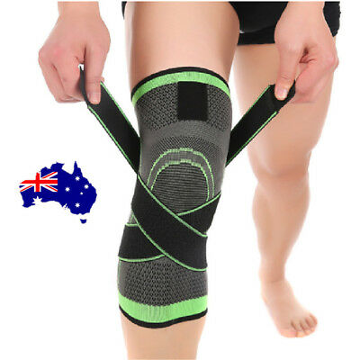 3D Weaving Knee Brace Breathable Sleeve Support for Running Jogging Sports ON