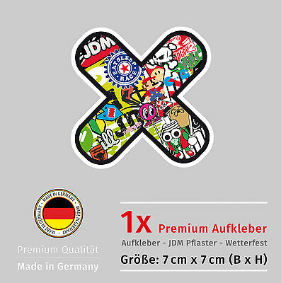 Aufkleber Pflaster-Tuning Kult JDM Tuning OEM DUB Decal Sticker Style Trend