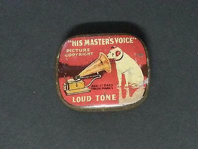Gramophone Needle Tin His Master's Voice Loud Tone