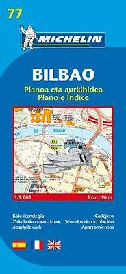 Map 9077 Bilbao (Michelin City Plans) by  | Paperback Book | 9782067127890 | NEW