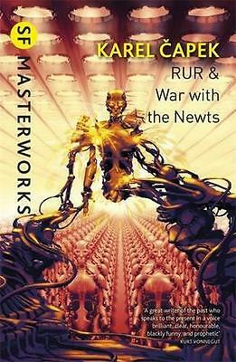 RUR & War with the Newts (S.F. MASTERWORKS) by Karel Capek | Paperback Book | 97
