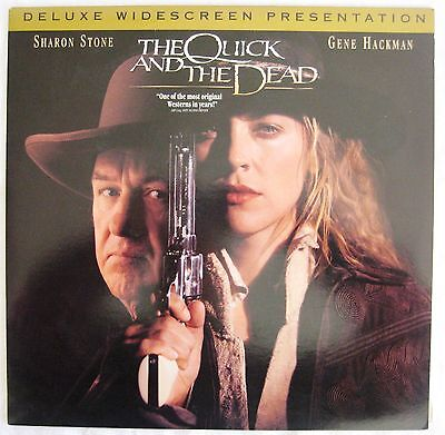 LASERDISC The Quick And The Dead - Cover Good slight creases, Discs Good to VG