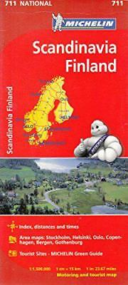 Scandinavia & Finland NATIONAL Map (Michelin National Maps) by Michelin | Hardco