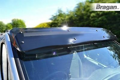 To Fit 02 - 14 Ford Transit Tourneo Connect Acrylic Smoked Sun Shade Sun Visor