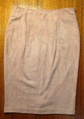 Blush Pink, Pencil Skirt, Size 10