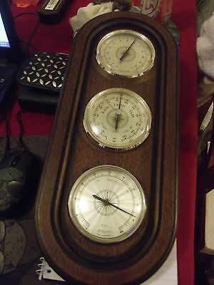 wooden barometer made in germany