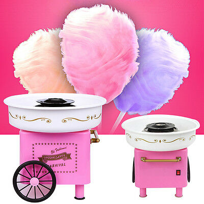 Vintage Electric Candyfloss Cotton Sugar Candy Maker Machine Party Carnival hot