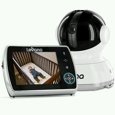 """Levana Keera 3.5"""" Pan/Titlt/Zoom Video Baby Monitor with Picture/Video Recording"""
