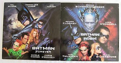 LASERDISCS Batman Titles x2 - Covers Good / Damaged Discs are Good to VG