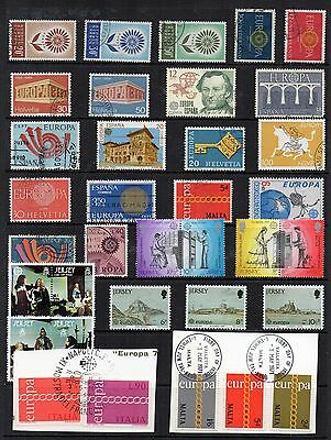 EUROPA Thematic STAMP COLLECTION Mint Used REF:TS345