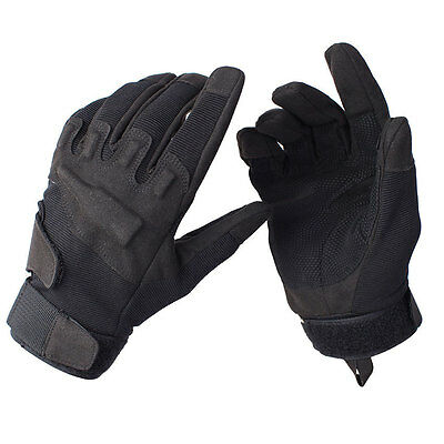Military Tactical Black Hawk Gloves Combat Full Finger Outdoor Sport Gloves