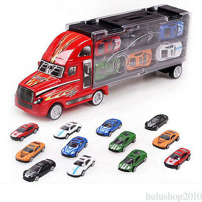 Lot of 12 hot wheels truck car sets Alloy wholesale toy gift truck train van NM5