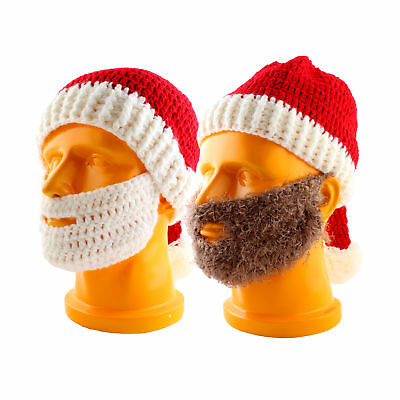 Funny Christmas Santa Claus With Beard & Hat