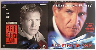 LASERDISCS Harrison Ford Double Pack - Covers Good / Ok, Discs are Good to VG