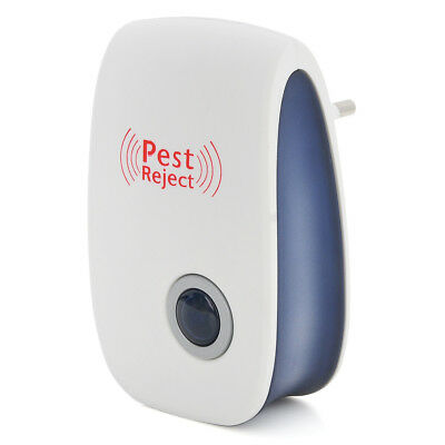 EU Electronic Ultrasonic Anti Pest Repeller Mosquito Cockroach Mouse Killer