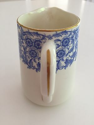 Royal Worcester Blue And White Jug