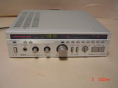 AIWA AX-S50G S50 Receiver. Rare and Collectable