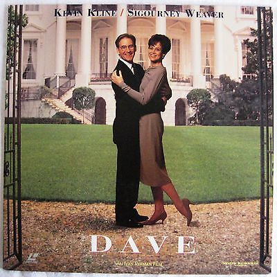 LASERDISC Dave - Cover Good & Disc is Good to VG