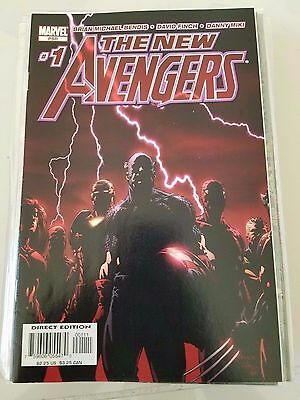 The New Avengers Lot Of 45 Issues (2005) Marvel Comics Full Civil War! Cage! #1+
