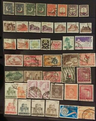 Pakistan Stamp Selection used L11