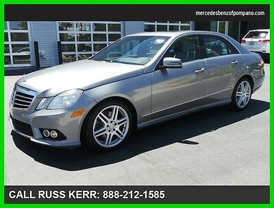 2010 Mercedes-Benz E-Class E 350 Luxury 2010 E 350 Luxury Used 3.5L V6 24V Automatic Rear Wheel Drive Sedan Premium