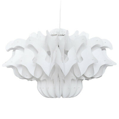 White Decorative DIY Chandelier Ceiling Pendant Lampshade for Indoor Lighting