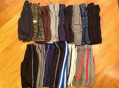 Lot Of 17 Toddler Baby Boys 18 Month Pants Jeans Carter's Jumping Beans Children
