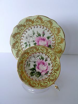 Foley Roses Bone China Tea Cup & Saucer Set