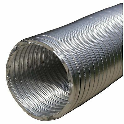 6 x 10 ft Aluminum Flexible Pipe HVAC Air Return Vent Ventilation Ductwork Duct