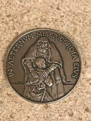 Vatican Official 2016 SILVER Medal HOLY YEAR of MERCY Jubilee Pope Francis