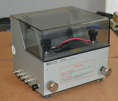 Agilent Keysight 42842A High Current Test fixture for 4284A/42841A LCR Meter 40A