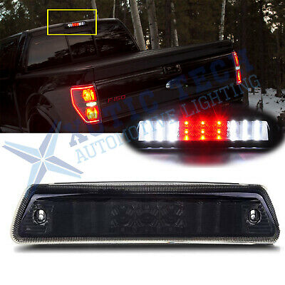 For Ford F-150 2009-2014 3rd Third Brake Light Smoked Lens LED Rear Cargo Lamp