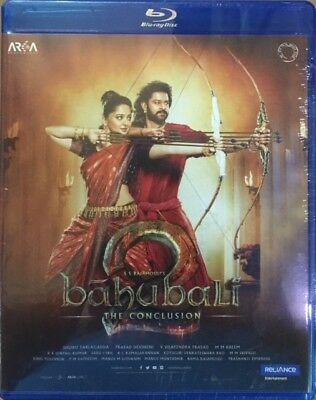 Bahubali 2 The Conclusion Blu-Ray - 2017 Hindi Movie Bluray / Dolby Atmos