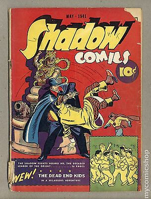 Shadow Comics Vol. 1 (1940) #10 FR/GD 1.5