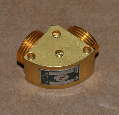 FXR F623A WR8 Waveguide 90-Degree Bend 90-140GHz FXR/Mini Flange NICE qty Avail