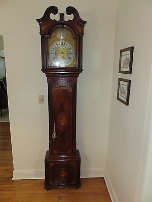 18th Century English Grandfather Longcase Musical Clock: Samuel Taylor of London