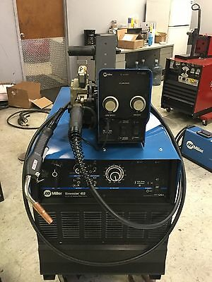 Miller Dimension 452 & S74 Stationary Welding Package