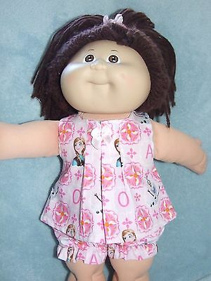 "CABBAGE PATCH 16"" Dolls Clothes / SHORTS~TOP~HEADBAND / Pink~Frozen"