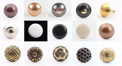 50 Decorative Upholstery Nails / Studs / Tacks / 17 Different Styles