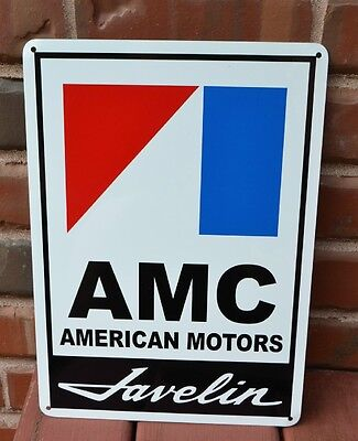 AMC JAVELIN Racing Sign American Motors AMX Service Mechanic Garage SIGN 7day