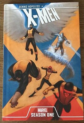 HARDBACK  X-Men Season One Marvel GRAPHIC NOVEL Book Dennis Hopeless J McKelvie