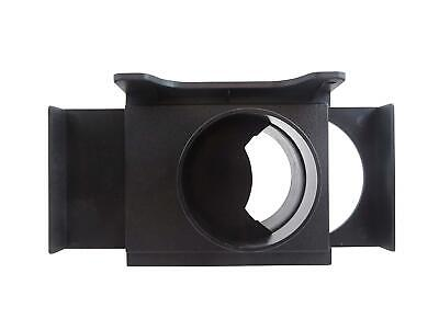 """4"""" ABS Self Cleaning Blast Gate Wall Mounting Bracket for Dust Collection 46250"""