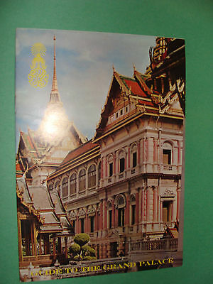 Bangkok Thailand Guide to the Grand Palace Travel Booklet