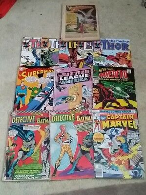 Bundle Of Old Comics Silver Age/Bronze Age