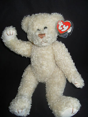 "Ty Beanies Bear - Attic Treasures 13"" Gem  With Tag"