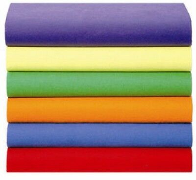 High Quality  Fitted Bed Sheets, Free Returns, Unique Solid Colors, Size Single