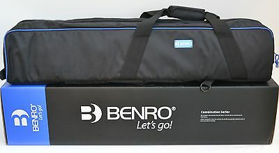 Benro COM37A Combination Series 3 Aluminum Tripod/New, Never Used/FREE SHIPPING