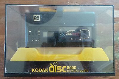 NOS Vintage NEW Kodak Disc 8000 Camera AD8R Outfit Unused In Original Box W Film