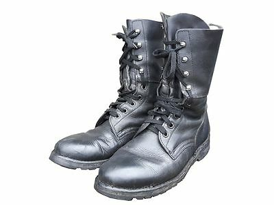 Genuine Surplus Austrian Army Leather Combat Boots Grade 1