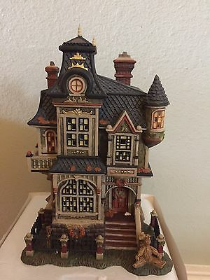 "Dept 56 All Hallows' Eve""barleycorn Manor""2004""lighted,retired, Used"